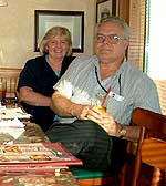 Joyce Triviski and Roy Christianson
