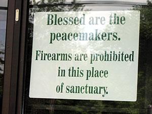 guns church gun church