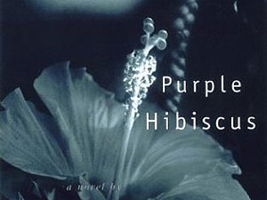 mpr themes and threads in chimamanda adichie s purple hibiscus   purple hibiscus courtesy of algonquin books