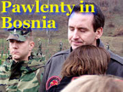 Pawlenty in Bosnia