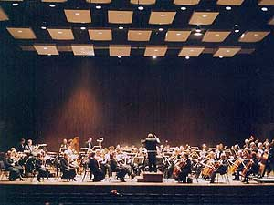 The 70 member SCSO is dazzling audiences with its new and improved sound.  (Photo courtesy St. Cloud Symphony Orchestra)