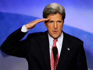 Image result for john kerry reporting for duty