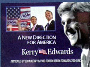 the presidential electorial race of 2004 george bush vs john kerry The role of election of 2004 in the history of the united states of america united states history  president bush defeated kerry 51 to 48 percent independent candidate ralph nader did.