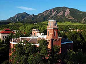 The University of Colorado at Boulder. Beginning this fall, college education in that state will be financed through a stipend system, and Minnesota Gov. Tim Pawlenty is interested in adopting a similar program here. (Photo courtesy of the University of Colorado)